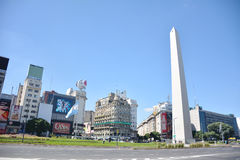 The Obelisco in Buenos Aires. Argentina Royalty Free Stock Images