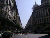 Obelisco Buenos Aires dell'Argentina immagine stock libera da diritti