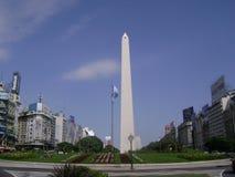 Obelisco Buenos Aires dell'Argentina immagini stock libere da diritti