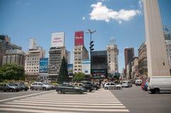 Obelisco de Buenos Aires Fotos de Stock
