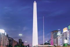 Obelisco de Buenos Aires Imagens de Stock