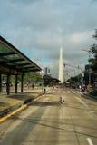 Obelisco de Buenos Aires Foto de archivo libre de regalías