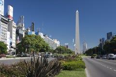 Obelisco de Buenos Aires Fotos de Stock Royalty Free