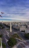 Obelisco de Buenos Aires Fotografia de Stock