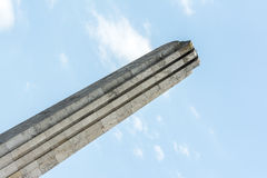 Obelisco de Horea, de Closca y de Crisan Imágenes de archivo libres de regalías