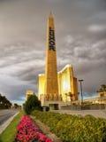 Obelisco de Las Vegas, Luxor Foto de archivo