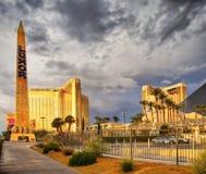 Obelisco de Las Vegas, Luxor Fotos de archivo libres de regalías