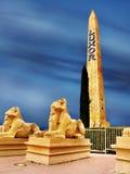 Obelisco de Las Vegas, Luxor Imagen de archivo