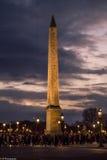 Obelisco de Luxor fotografía de archivo