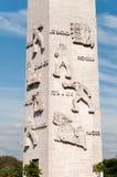 Obelisco de Sao Paulo imagen de archivo