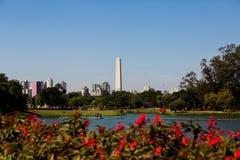 Obelisco de Sao Paulo foto de archivo