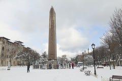 Obelisco de Theodosius Fotos de archivo