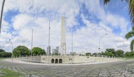 Obelisco del parque de Ibirapuera imágenes de archivo libres de regalías
