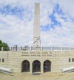 Obelisco del parque de Ibirapuera fotos de archivo libres de regalías