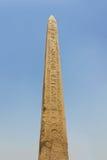 Obelisco del templo de Karnak Fotografía de archivo