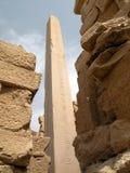Obelisco del templo de Karnak Imagen de archivo