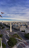 Obelisco di Buenos Aires fotografia stock
