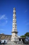 Obelisco di Lecce, Italia fotografia stock