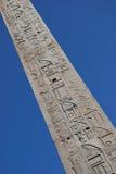 Obelisco egipcio. imagenes de archivo