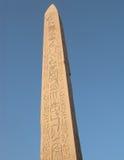 Obelisco egipcio imagen de archivo