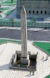 Obelisco egipcio Estambul fotos de archivo