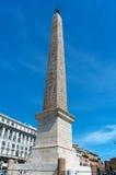 Obelisco Egizio, obelisco egípcio, praça San Giovanni, Roma, Itália Imagens de Stock Royalty Free