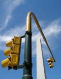 Obelisco en Buenos Aires Fotografía de archivo