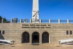 Obelisco en Ibirapuera fotos de archivo
