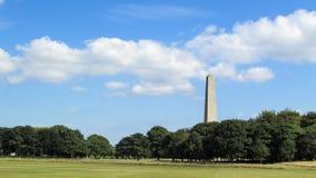 Obelisco irlandés fotos de archivo