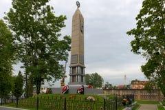 Obelisco in memoria delle battaglie di 1942 fotografie stock libere da diritti