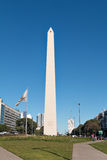 Obelisco (Obelisk), Buenos Aires Argentina. The Obelisk of Buenos Aires was built in 1936 to celebrate the 400th anniversary of the city founding Alberto royalty free stock photography