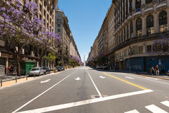 Obelisco (Obelisk), Buenos Aires Argentina Royalty Free Stock Photography