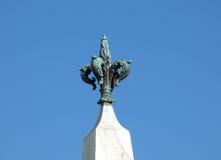 Obelisco. The obelisk on Santa Maria Novella Square, Florence, Italy Royalty Free Stock Photo