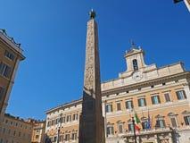 Obelisco romano imagen de archivo libre de regalías