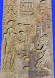 Obelisco Sallustiano Trinita Dei Monti Spanish Steps de los jeroglíficos Imágenes de archivo libres de regalías