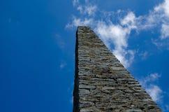 Obelisco y cielo foto de archivo libre de regalías