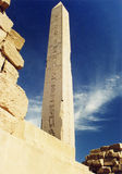 Obelisk. At Karnak Temple, Egypt Royalty Free Stock Photography