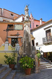 Obelisk of Addolorata. Maratea. Basilicata. Italy. Royalty Free Stock Photography