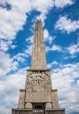 Obelisk in Alba Iulia Stock Image