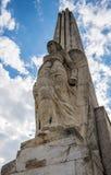 Obelisk in Alba Iulia Stock Photo