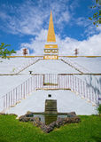 Obelisk in Alto da Memoria, Angra, Terceira, Azoren Lizenzfreie Stockfotos