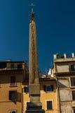 Obelisk auf dem Fontana Del Pantheon, Rom Stockfotos
