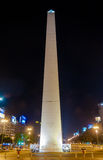 The Obelisk - Buenos Aires, Argentina at night stock images