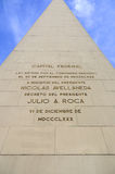 The Obelisk of Buenos Aires Royalty Free Stock Photos
