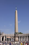 The obelisk called 'The Witness' in St. Peter\'s square Stock Photography