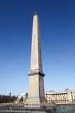 Obelisk at the Concorde in Paris France stock photo