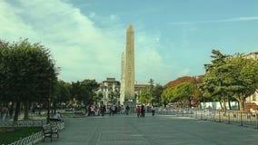 Obelisk de Theodosius, Istambul Imagens de Stock