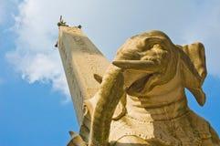 Obelisk do elefante imagens de stock royalty free