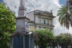 Obelisk  Dogali ( Obelisco di Dogali ). Rome, Italy Stock Image