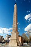 Praça egípcia San Giovanni Italia Ob de Roma do Obelisk Fotografia de Stock